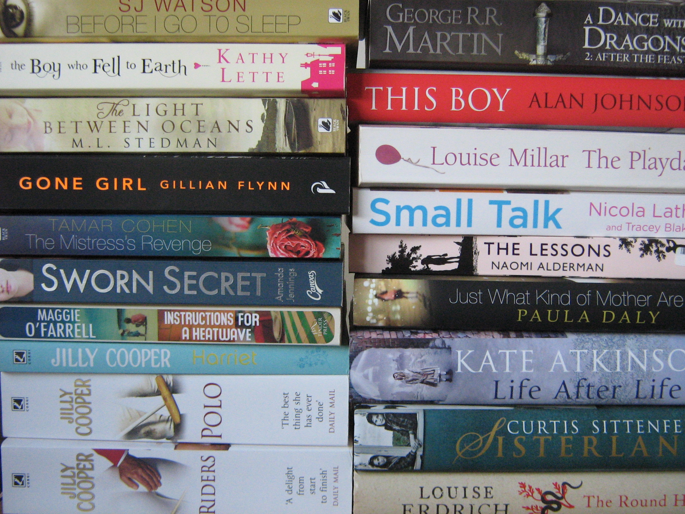 favourite books of 2013
