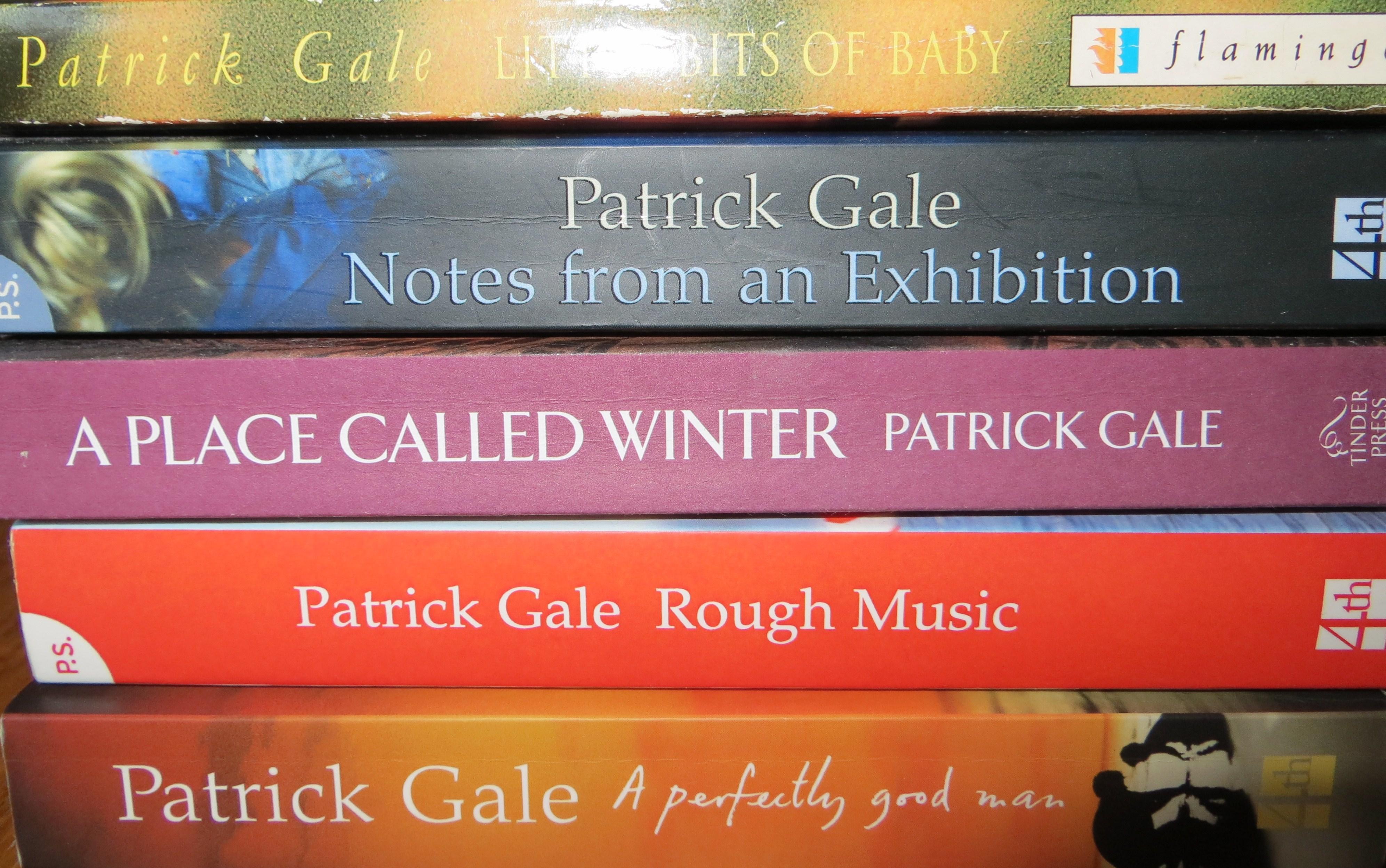 Patrick Gale's novels