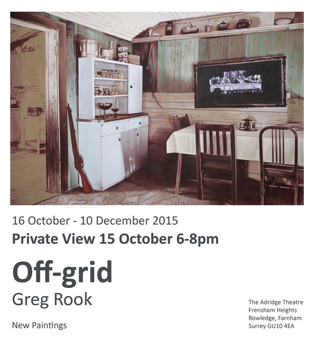 Off-grid paintings by Greg Rook
